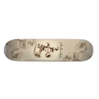 The Good Robot Custom Skate Board