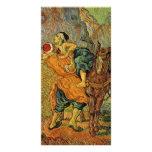 The Good Samaritan after Delacroix by van Gogh Custom Photo Card