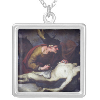 The Good Samaritan Silver Plated Necklace