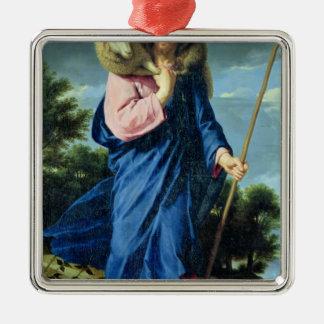 The Good Shepherd, c.1650-60 Christmas Ornament