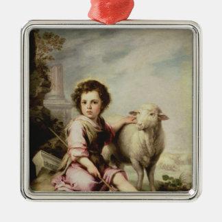 The Good Shepherd, c.1650 Christmas Ornament