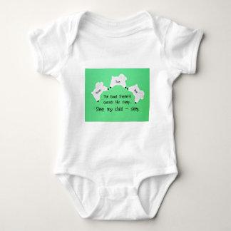 The Good Shepherd counts sheep... Baby Bodysuit