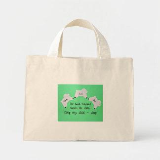 The Good Shepherd counts sheep... Mini Tote Bag