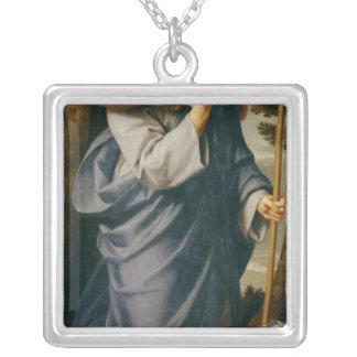 The Good Shepherd Square Pendant Necklace
