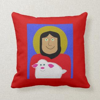 The Good Shepherd Throw Cushions