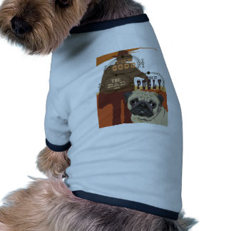 The Good, The Bad and The Pugly Ringer Dog Shirt