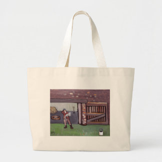 THE GOOSE THAT DIED CANVAS BAGS