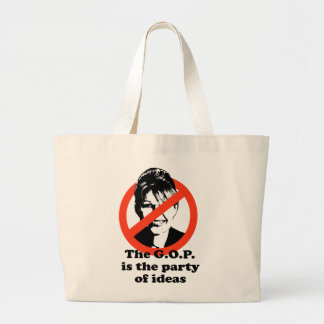 The GOP is the party of ideas Tote Bags