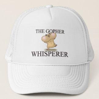 The Gopher Whisperer Trucker Hat