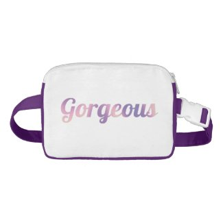 The Gorgeous Edition Bum Bag