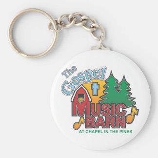 The Gospel Music Barn Keychains