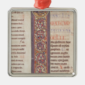 The Gospel of St. Mark Silver-Colored Square Decoration