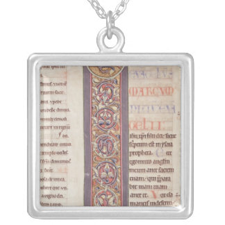 The Gospel of St. Mark Silver Plated Necklace