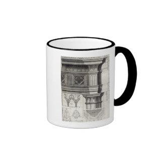 The Gothic Entablature Ringer Mug