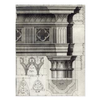 The Gothic Entablature Postcard