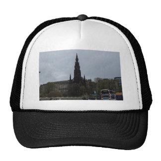 The Gothic Scott Monument in Edinburgh Trucker Hat