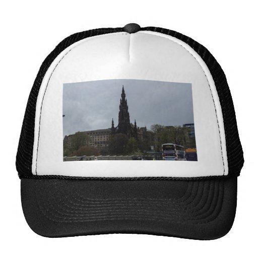 The Gothic Scott Monument in Edinburgh Mesh Hat