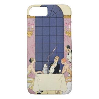 The Gourmands, 1920-30 (pochoir ) iPhone 8/7 Case