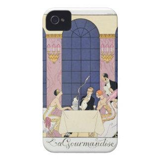The Gourmands, 1920-30 (pochoir print) Case-Mate iPhone 4 Case