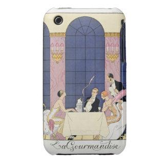 The Gourmands, 1920-30 (pochoir print) iPhone 3 Case