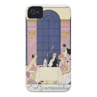The Gourmands, 1920-30 (pochoir print) iPhone 4 Cover
