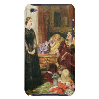 The Governess, 1860 (oil on canvas) Barely There iPod Cases