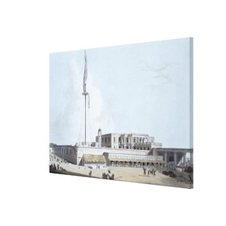 The Government House, Fort St. George, plate 35 fr Canvas Print