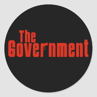 The Government Round Sticker