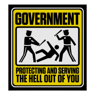 The Government Warning Poster