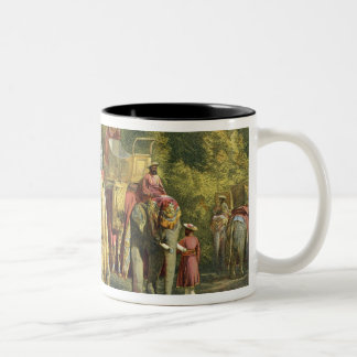 The Governor-General's State Howdah, 1863 (chromol Two-Tone Coffee Mug