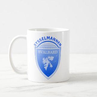 the Governor Svalbard, Norway Basic White Mug