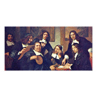 The Governors Of The Guild Of St Luke Haarlem 167 Photo Card