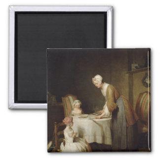 The Grace, 1740 2 Square Magnet