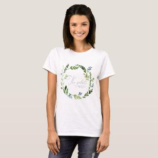 THE GRADUATE BLUSH WATERCOLOR FLORAL T-Shirt