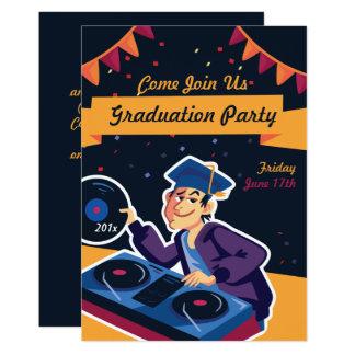The Graduate DJ Graduation Party Invitation