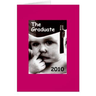 the graduate (female) greeting card