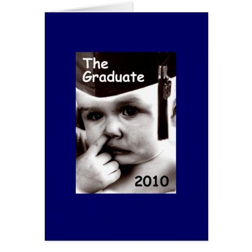 the graduate (male) card