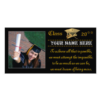 The Graduate Personalized Photo Card