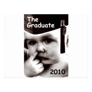 the graduate post card