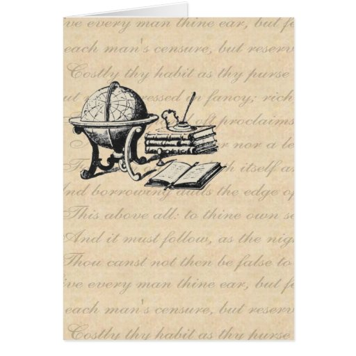 The Graduate Thank You Card In Beige