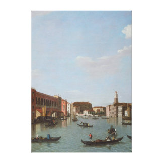 The Grand Canal and San Geremia, Venice Gallery Wrap Canvas