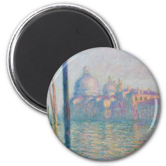 The Grand Canal by Monet Magnet
