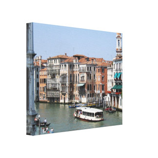 The Grand Canal Canvas Prints
