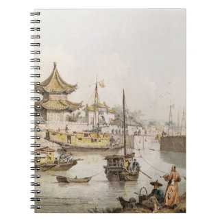 The Grand Canal, China, (w/c) Notebook