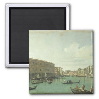 The Grand Canal from the Rialto Bridge Magnet