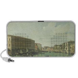 The Grand Canal from the Rialto Bridge Laptop Speakers