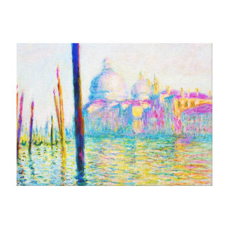 The Grand Canal in Venice Claude Monet Gallery Wrap Canvas