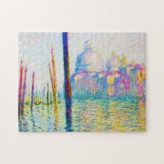 The Grand Canal in Venice Claude Monet Jigsaw Puzzle