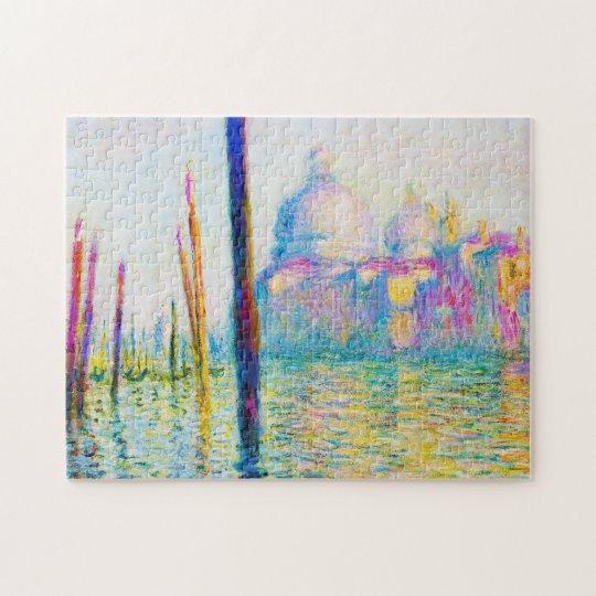The Grand Canal in Venice Claude Monet Jigsaw