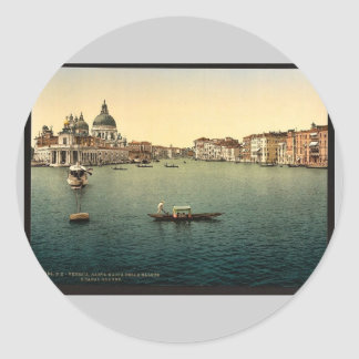 The Grand Canal Santa Maria della Salute Venice Stickers